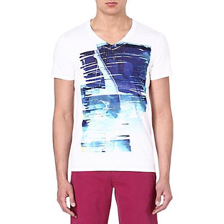 HUGO BOSS Diving lady t-shirt (White