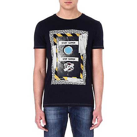 HUGO BOSS Sound System t-shirt (Navy