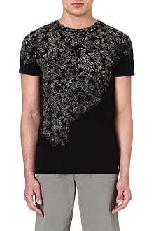 HUGO BOSS Cotton floral t-shirt
