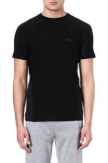 HUGO BOSS Jersey mesh panel t-shirt