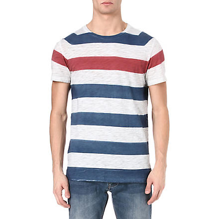 HUGO BOSS Tikon stripe t-shirt (Blue