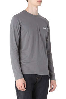 HUGO BOSS Long-sleeve logo t-shirt