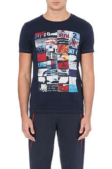 HUGO BOSS Printed cotton t-shirt