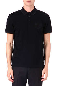 HUGO BOSS Crest logo polo