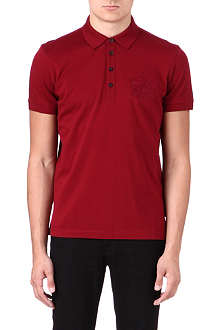 HUGO BOSS Varenna crest polo shirt