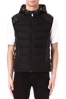 HUGO BOSS Vertical quilted gilet