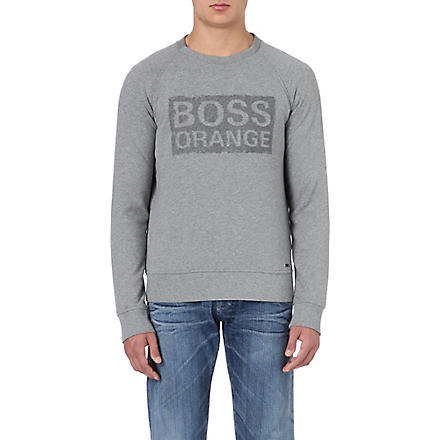 HUGO BOSS Logo sweatshirt (Grey