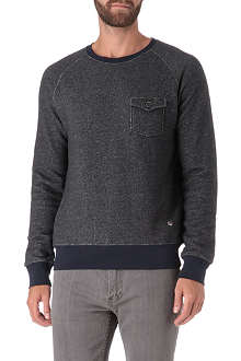 HUGO BOSS Crew neck pocket sweatshirt