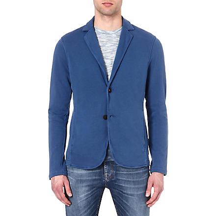 HUGO BOSS Cotton blazer (Blue