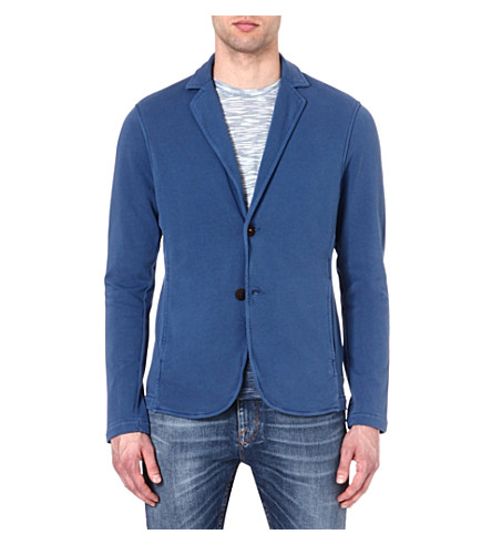 HUGO BOSS Cotton blazer (Blue