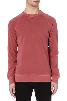HUGO BOSS Wheel washed sweatshirt