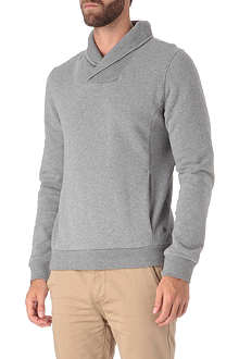 HUGO BOSS Wisible shawl sweatshirt