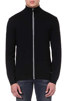 HUGO BOSS Zeen zip-up cardigan
