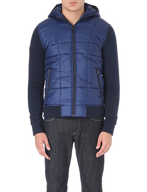 HUGO BOSS Zodiac cotton quilted jacket