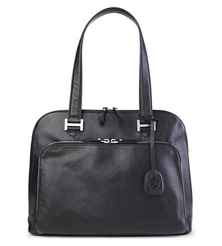 LEONARD HEYDEN Montpellier briefcase (Black