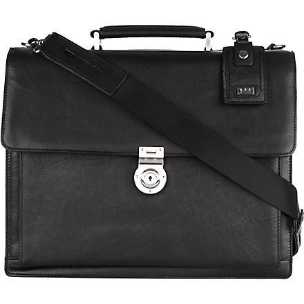 LEONARD HEYDEN Bristol briefcase (Black