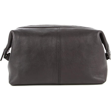 LEONHARD HEYDEN Bristol wash bag (Black