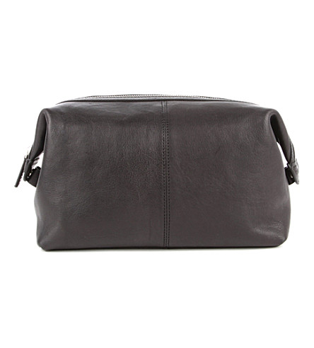 LEONARD HEYDEN Bristol wash bag (Black