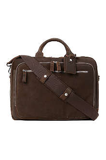 LEONARD HEYDEN Boston laptop bag