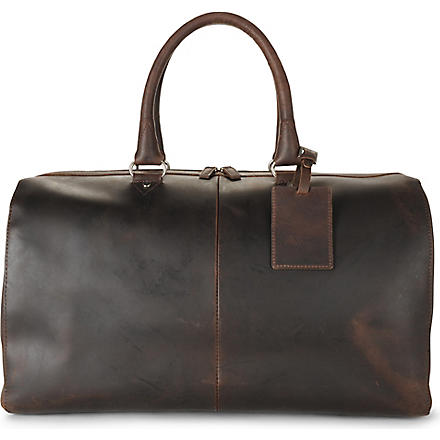 LEONHARD HEYDEN Salisbury travel bag (Brown