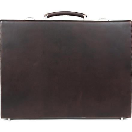 LEONARD HEYDEN Salisbury briefcase (Brown