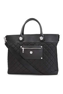 "KNOMO Rimini quilted 13"" laptop briefcase"