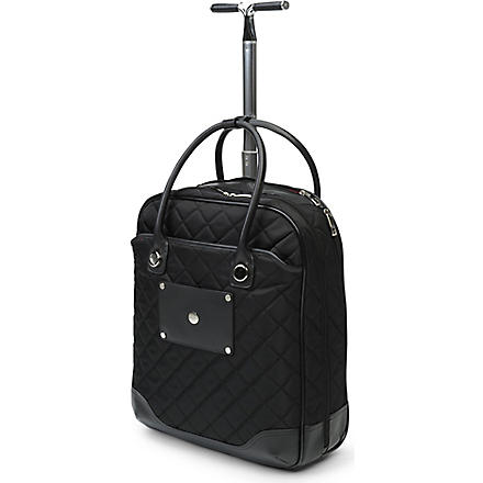 KNOMO Serra wheeled laptop bag (Black