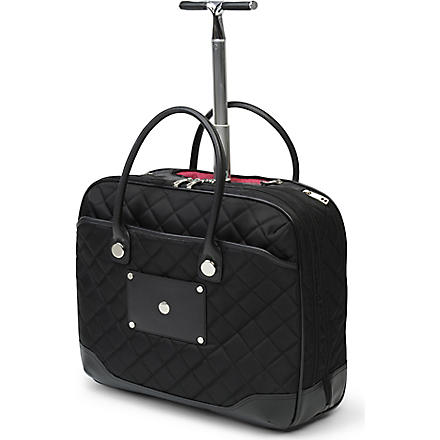 KNOMO Verona wheeled bag (Black