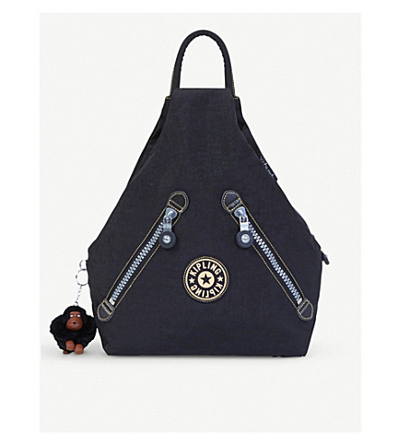 KIPLING Shadow nylon shoulder bag (Black+uo