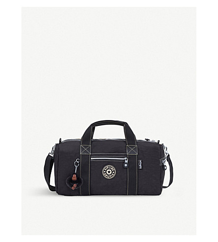 KIPLING Tag Along nylon duffle bag (Black+uo