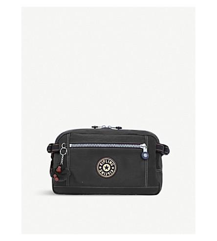 KIPLING Holder nylon shoulder bag (Black+uo