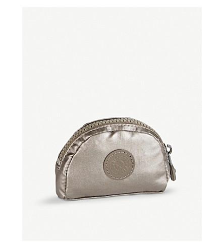 KIPLING Trix metallic coin purse (Metallic+pewter