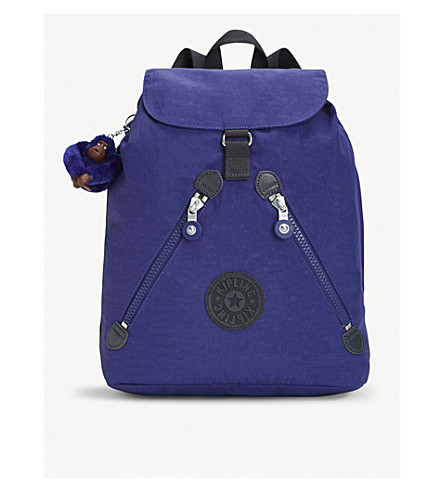 KIPLING backpack medium Summer Fundamental medium purple Fundamental nylon KIPLING nylon 1qwEgTxnT