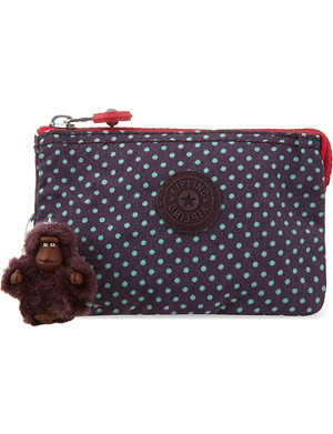 KIPLING Creativity polka dot purse
