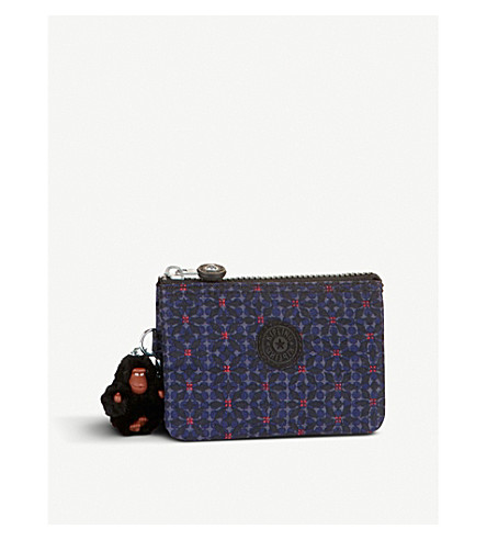 KIPLING Creativity floral small purse (Falling+star