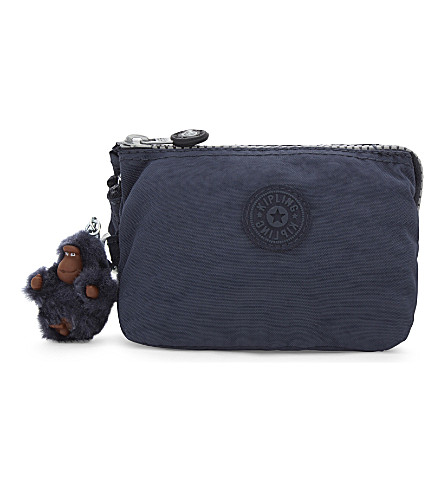 KIPLING Creativity small zipped purse (Alaskan+blue