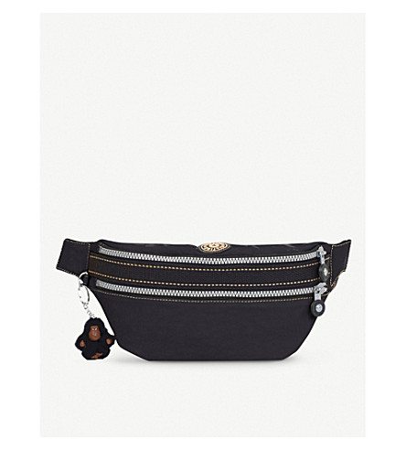 KIPLING Whisper nylon crossbody and bum bag (Black+uo