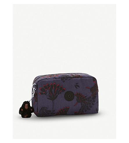 KIPLING Gleam Printed nylon pouch (Floral+night