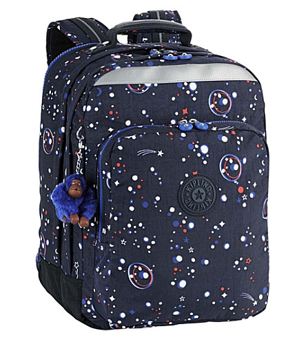KIPLING College Up nylon backpack (Galaxy+party