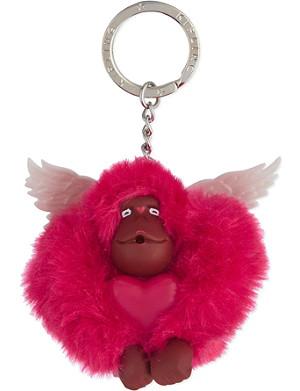 KIPLING Valentine monkey keyring