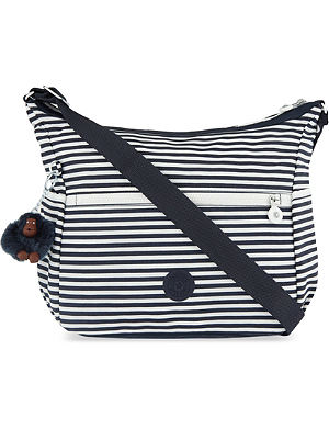 KIPLING Alenya striped cross-body bag