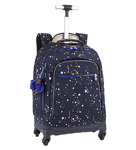 KIPLING Echo nylon wheeled school bag (Galaxy+party