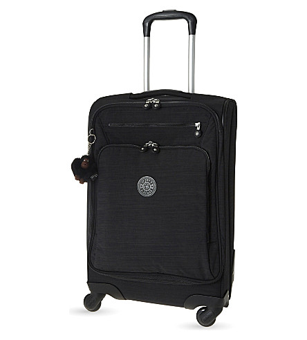 KIPLING Youri four-wheel spinner suitcase 55cm (Dazz+black