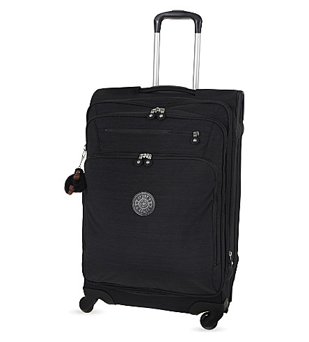 KIPLING Youri four-wheel spinner suitcase 68cm (Dazz+black