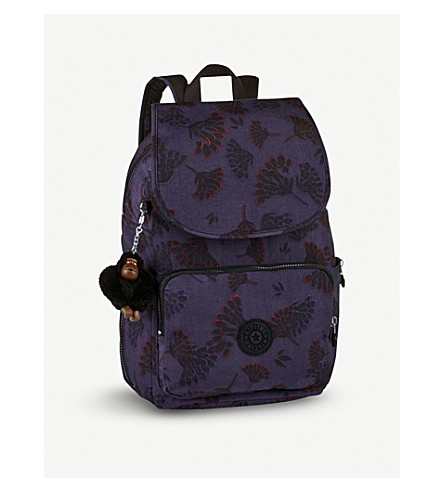 KIPLING Kipling Cayenne small nylon backpack (Floral+night