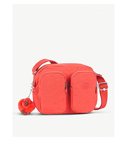KIPLING Patti nylon small crossbody bag (Galaxy+orange