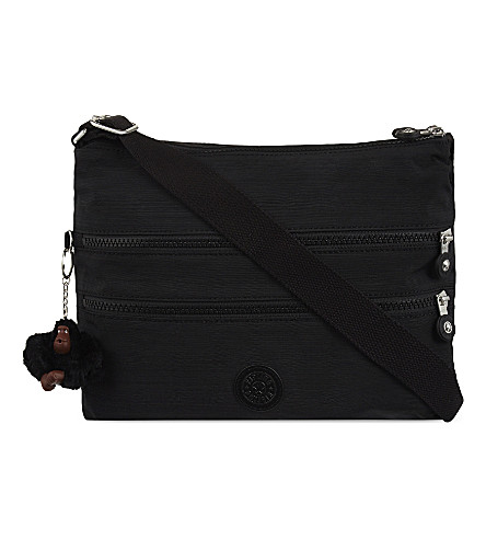 KIPLING Alvar shoulder bag (Dazz+black