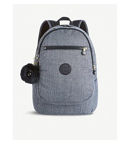 KIPLING Clas Challenger medium nylon backpack (Cotton+jeans