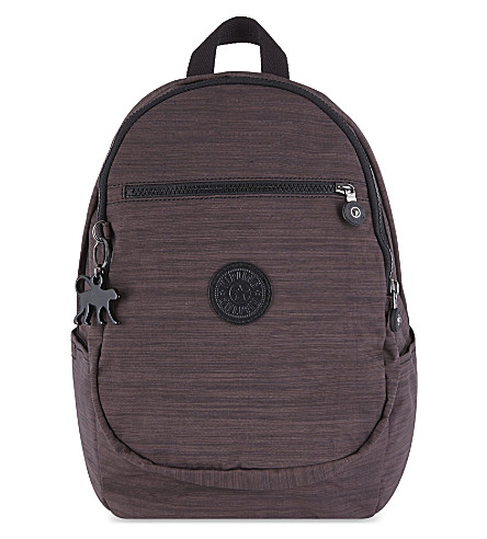 KIPLING Clas Challenger nylon backpack (Dazz espresso c