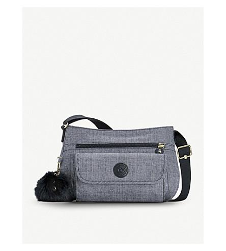 KIPLING Syro nylon crossbody bag (Cotton+jeans